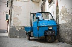 Проход. Rodi Garganico. Апулия. Италия. стоковое изображение rf