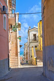 Проход. Rodi Garganico. Апулия. Италия. стоковые фото