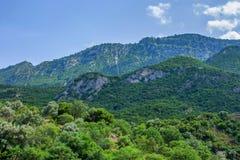 Проход Thermopylae в Греции стоковые фото