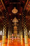 процветание wat благоприятное, висок в sukhothai, Таиланде Стоковая Фотография RF