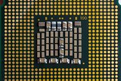 Процессор компьютера Стоковые Изображения