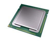 Процессор центрального компьютера Стоковое фото RF