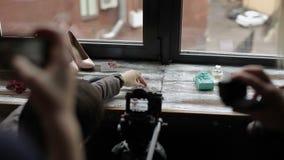 Процесс видео стрельбы сток-видео