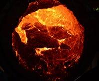 Процесс литья металла стоковая фотография