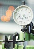 Процесс качества инструмента измеряя Стоковые Изображения RF