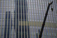 Процесс конструкции здание Стоковая Фотография