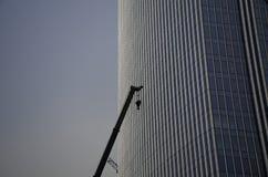 Процесс конструкции здание Стоковое Фото