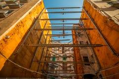 Процесс конструкции здания Стоковое Изображение RF