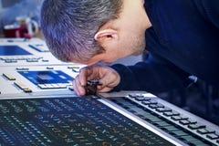 Процесс коррекции офсетной печати и цвета Стоковые Изображения