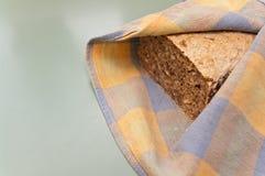 Процесс домодельного хлеба Стоковые Фото