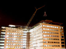 Процесс строительной конструкции стоковые изображения