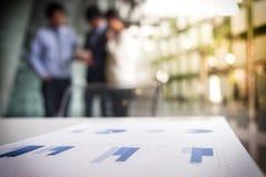 Процесс сыгранности, запачканная абстрактная предпосылка бизнесменов стоковое изображение rf