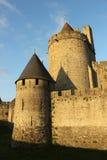 Процитируйте medievale Carcassone, Франции Стоковая Фотография