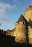 Процитируйте medievale Carcassone Стоковые Изображения