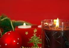прочешите красный цвет рождества Стоковые Изображения