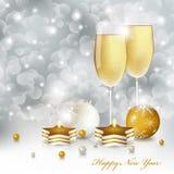 прочешите Новый Год бесплатная иллюстрация