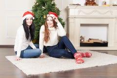 прочешите Новый Год иллюстрации подарков etc поздравлению рождества поздравительное одевая Стоковое фото RF