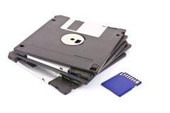 прочешите память дискета Стоковое Изображение RF