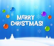 прочешите приветствие рождества Стоковые Изображения RF