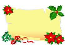 прочешите рождество Стоковое Фото