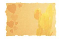прочешите сбор винограда Валентайн влюбленности Стоковые Фотографии RF