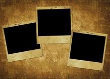 прочешите старый бумажный сбор винограда Стоковое фото RF