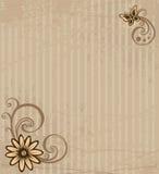 прочешите цветок иллюстрация штока