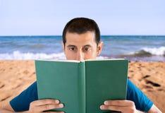 Прочитанный на каникулах Стоковая Фотография RF