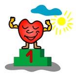 прочность сердца Стоковое Изображение
