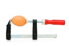 прочность яичка принципиальной схемы струбцины Стоковая Фотография RF