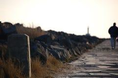 прочь гуляющ Стоковые Изображения RF