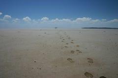 прочь гуляющ Стоковые Фото