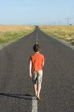 прочь гуляющ Стоковое Фото