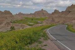 прошлая дорога к Стоковая Фотография