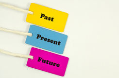 Прошлое присутствующее будущее Стоковое фото RF