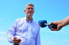 прощание его латышские zatlers valdis президента m стоковые фото