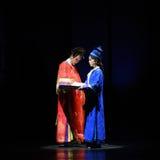 Прощани-крушение иллюзий-современные императрицы драмы в дворце Стоковое Изображение RF
