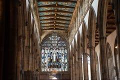 Прощелыга приходской церкви Йоркшира корпуса Стоковая Фотография RF