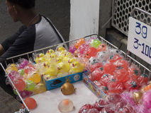 Продавать игрушек улицы Стоковое Изображение RF