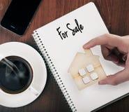 Продавать недвижимости стоковые изображения