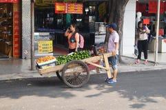 продавать плодоовощ Стоковая Фотография