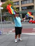 продавать mardi gras флага Стоковая Фотография RF