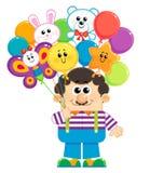 Продавец воздушных шаров Стоковое фото RF