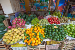Продавец плодоовощ вьетнамца Стоковая Фотография