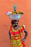 Продавец плодоовощ Palenquera Стоковое Изображение