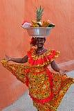 Продавец плодоовощ Palenquera Стоковые Изображения