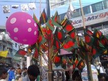 Продавец флага Стоковая Фотография RF