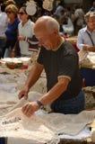 Продавец шнурка Стоковые Изображения