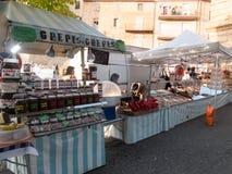 Продавец шоколада и помадок Стоковые Фото