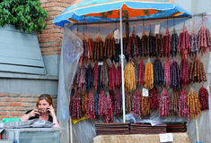 Продавец Churchhela Стоковые Фото
